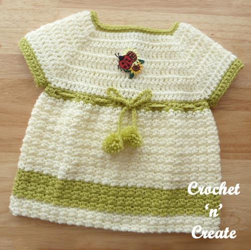 woodland baby dress