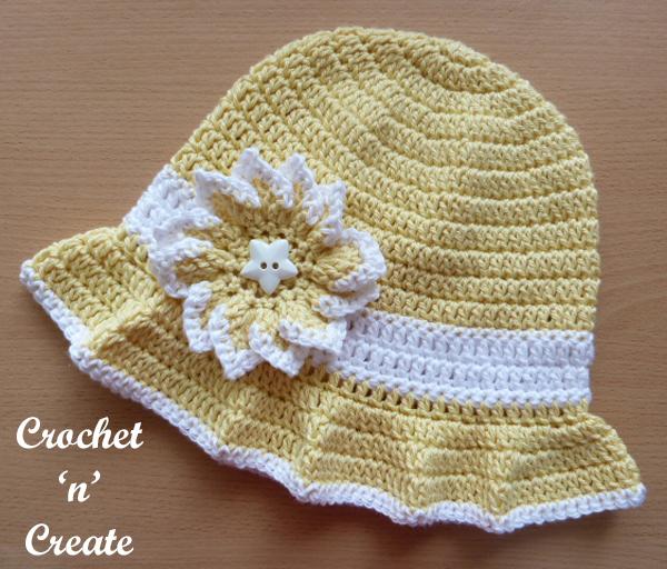 free crochet hat