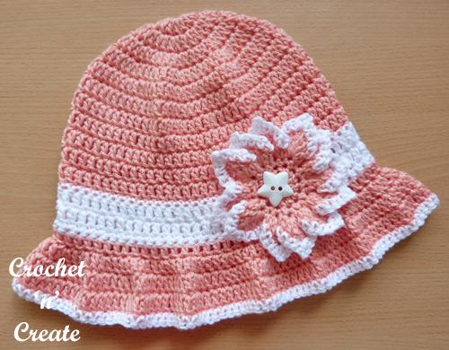 cotton floppy sun hat