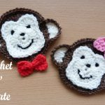monkey face applique