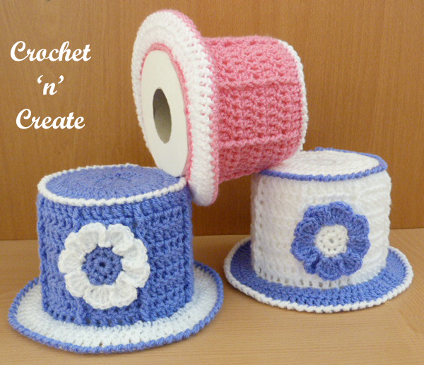 top hat toilet roll cover