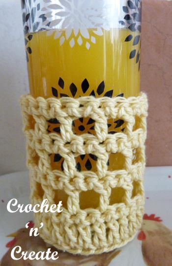 free tumbler jacket crochet pattern