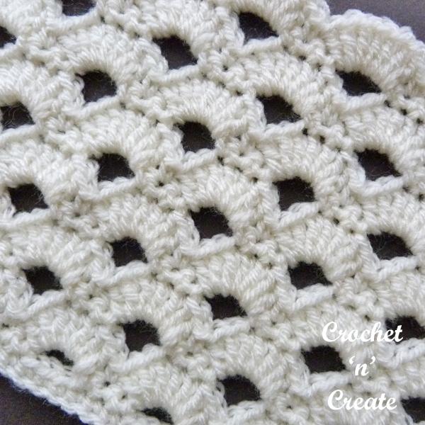 arcade crochet stitch