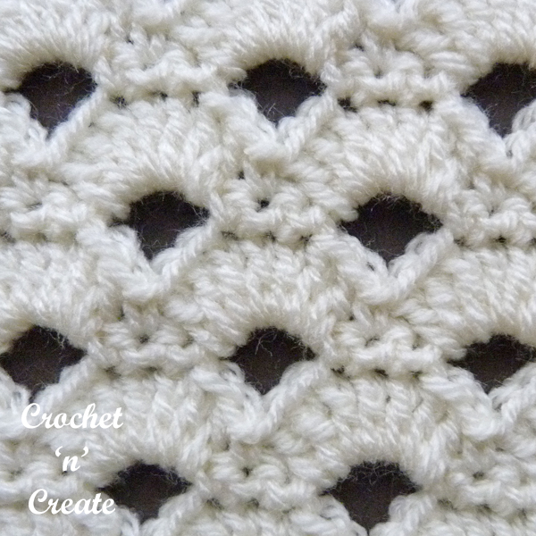 arcade stitch close up