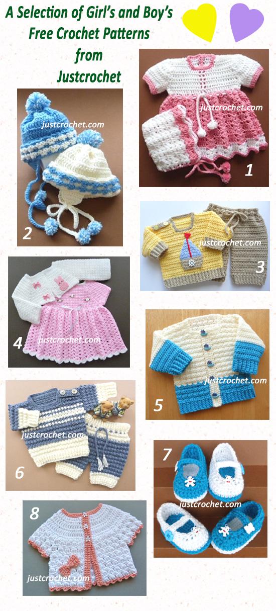 baby crochet pattern roundup