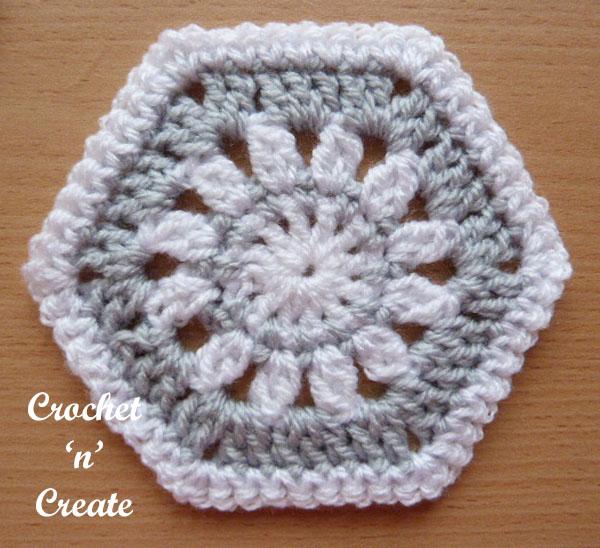 hexagon motif