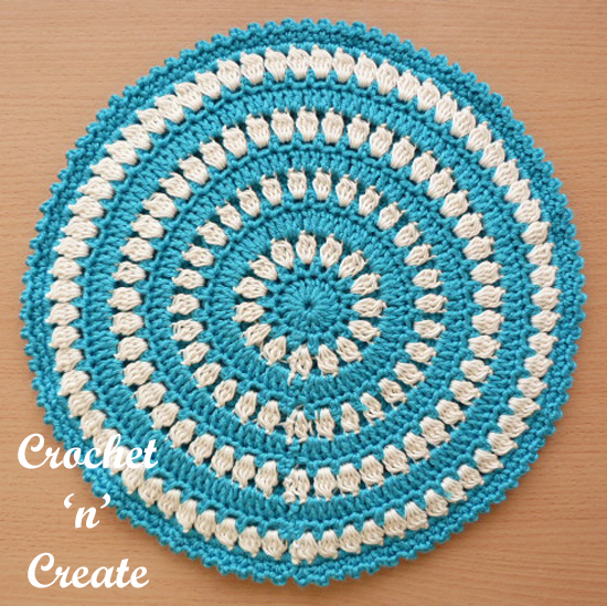 Crochet Hot Pad uk Free Crochet Pattern