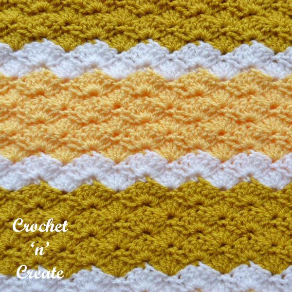 free lapghan blanket pattern