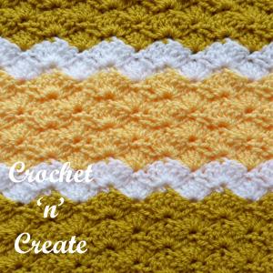 lapghan blanket stitch