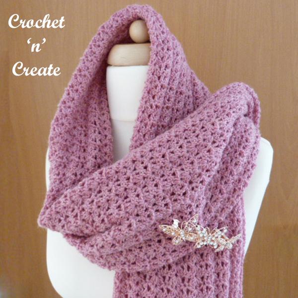 crochet lightweight shawl