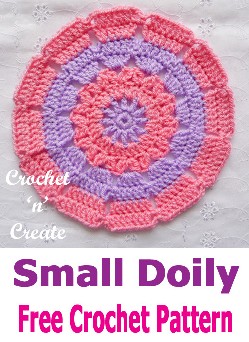 small doily uk format