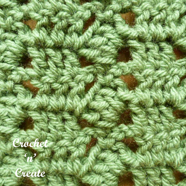 crochet cowl stitch