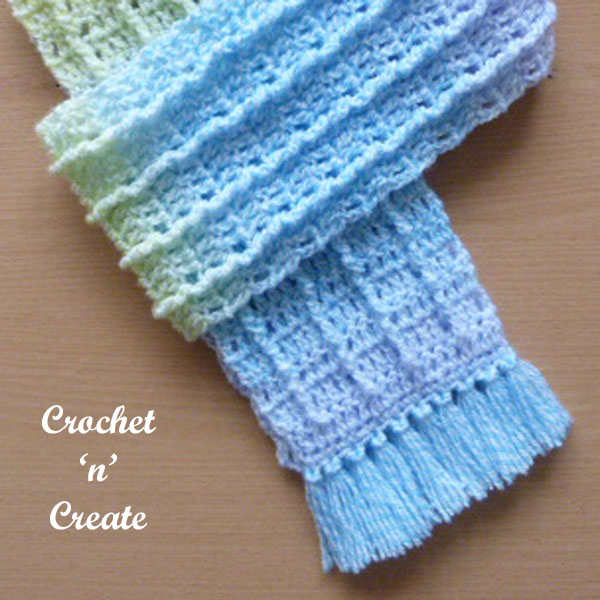 fringed scarf-600g