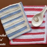 Two cluster dishcloth