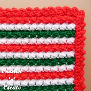 crochet christmas mat uk