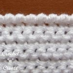 crochet crab stitch pictorial