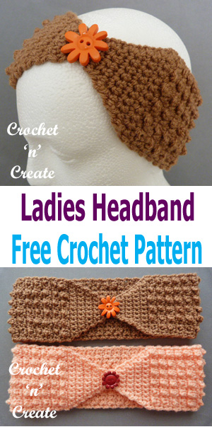 crochet headband pinterest