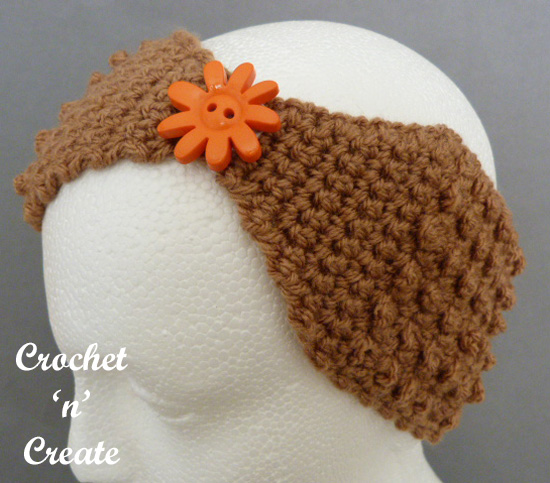 crochet ladies headband