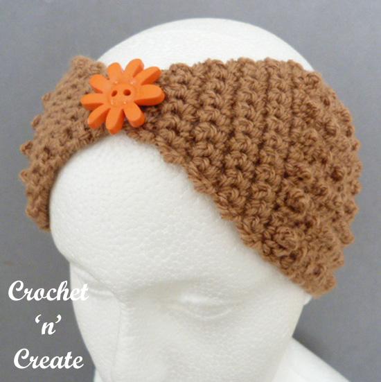 crochet headband front uk