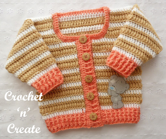 crochet puff stitch cardigan uk
