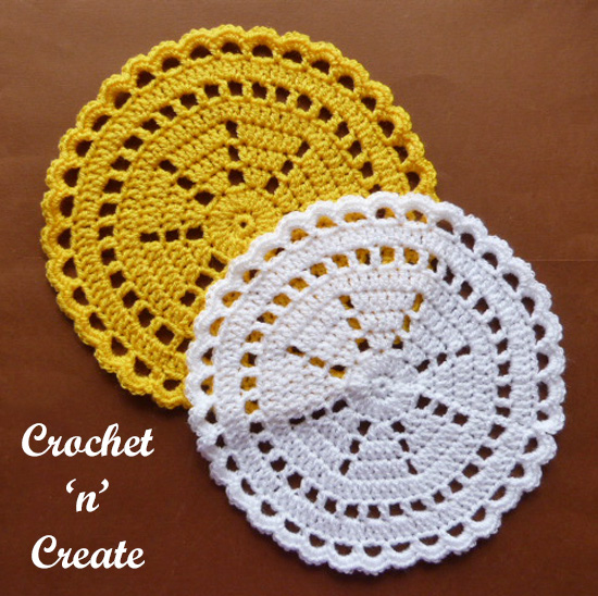 crochet quick doily