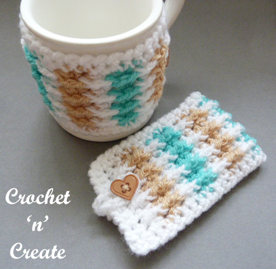 Crochet Mug Jacket ~ Crochet 'n' Create