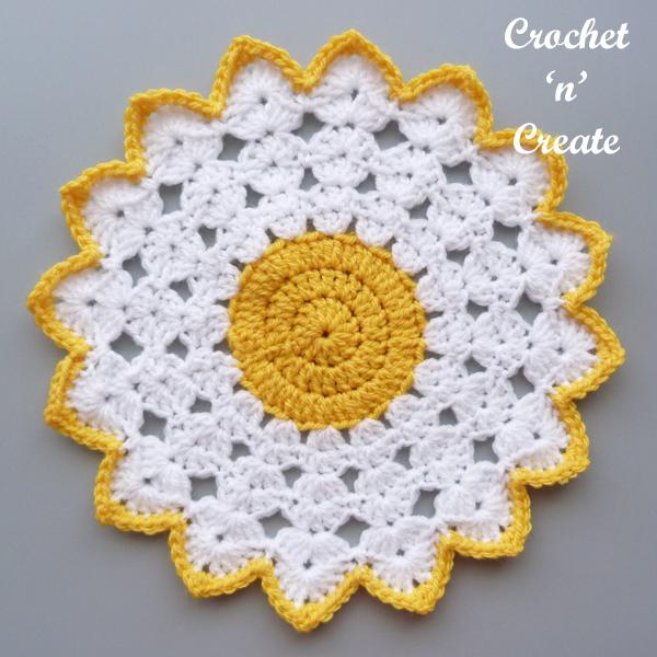 yellow-white mat
