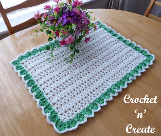 crochet dining table mat uk