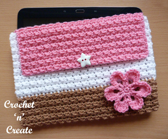 crochet tablet cover uk