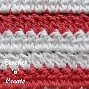 two cluster stitch-red