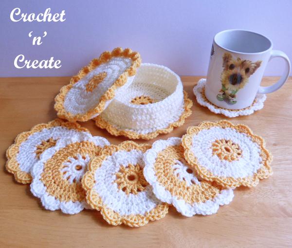 Crochet-Coasters-Basket