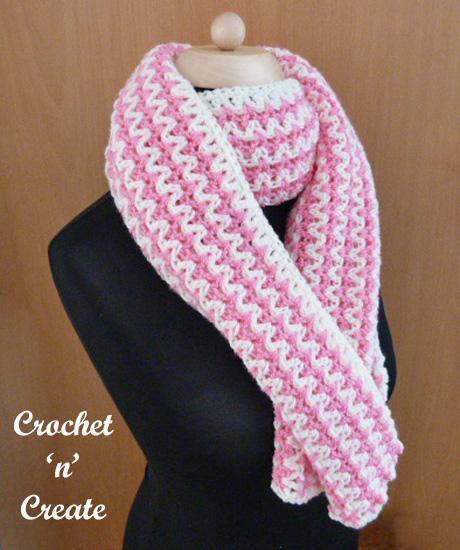 Free zig zag wrap crochet pattern