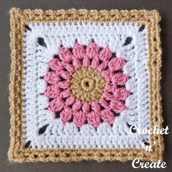 crochet blanket afghan square