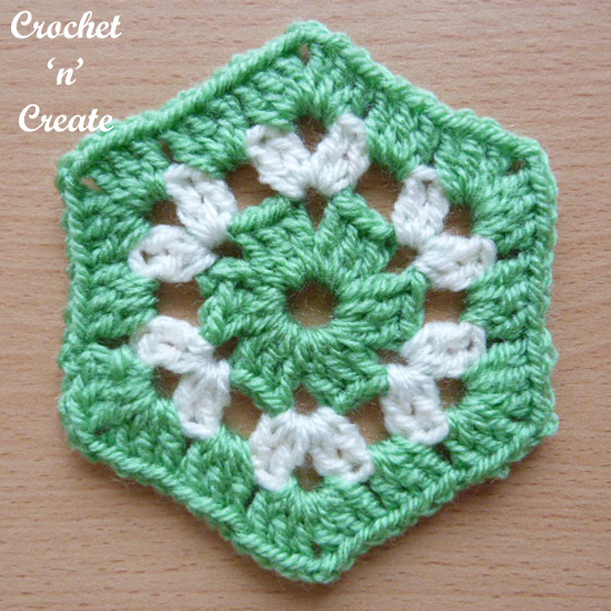 crochet granny hexagon uk