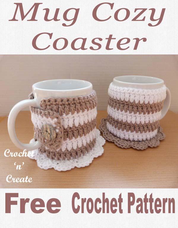 mug cozy coaster