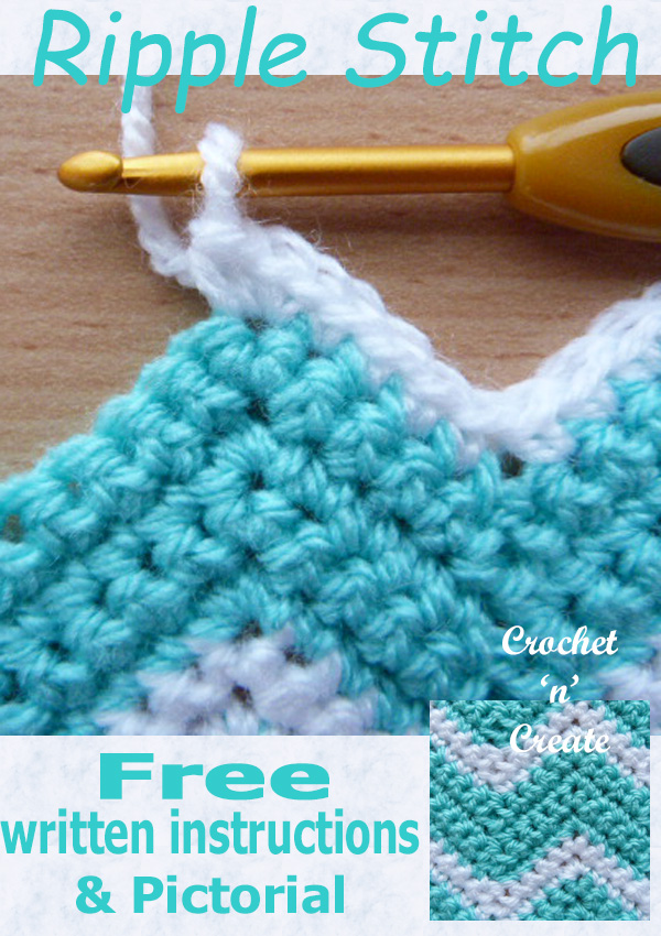 ripple stitch free pictorial