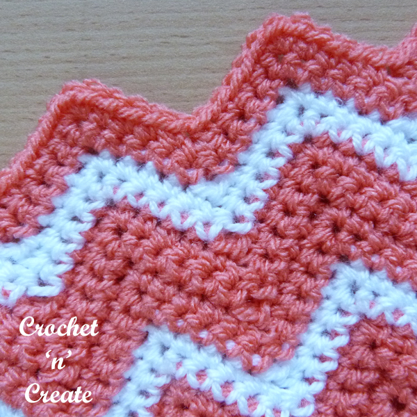 crochet ripple stitch10