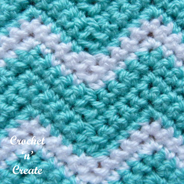 crochet ripple stitch7