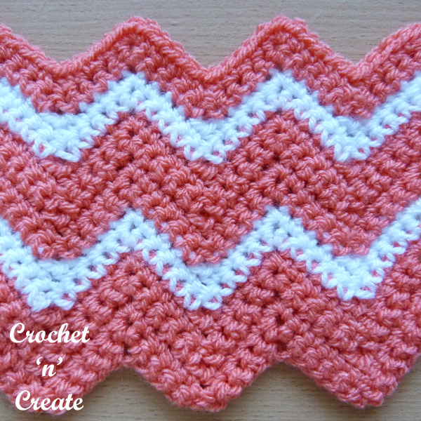 crochet ripple stitch8