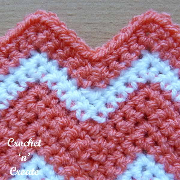 crochet ripple stitch9