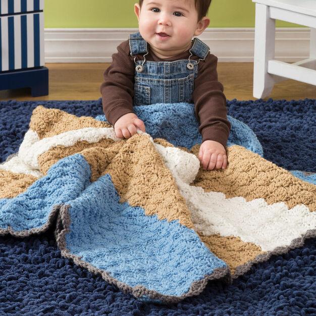 baby shells blanket