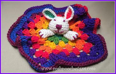 rainbow bunny love