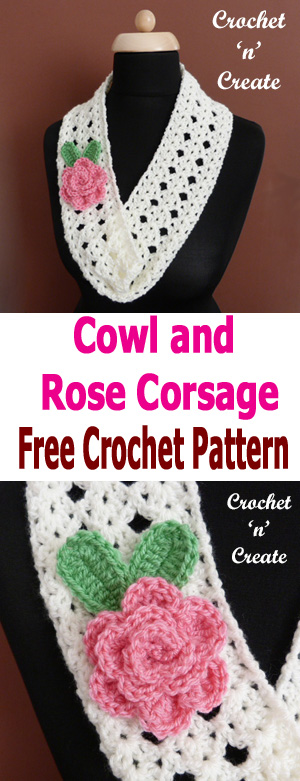 cowl-rose corsage
