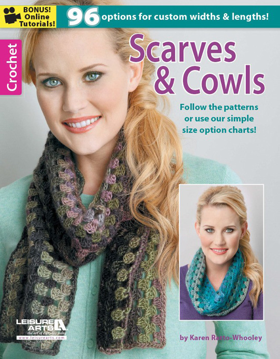 crochet scarves-cowls