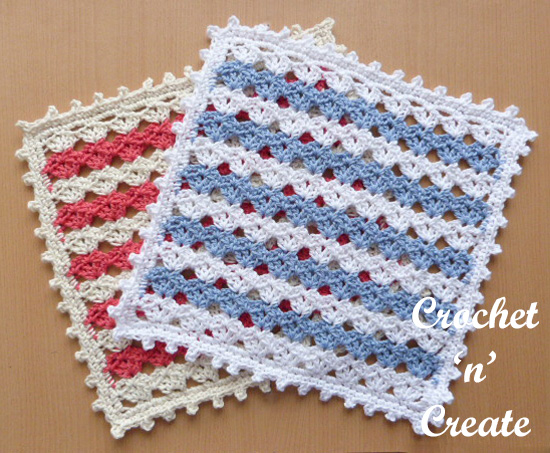 crochet square doily uk