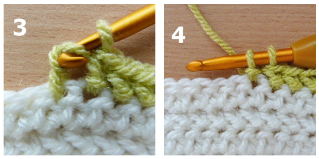 herringbone stitch 3-4