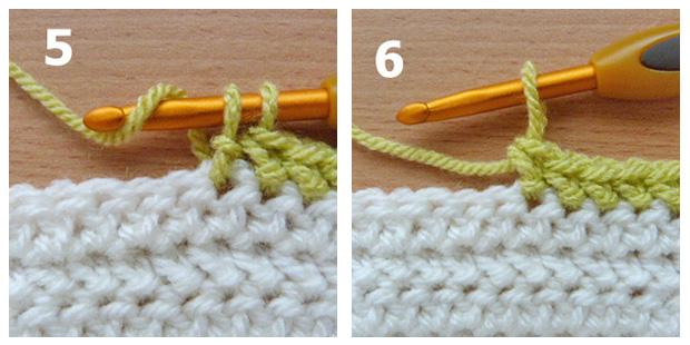 herringbone stitch 5-6