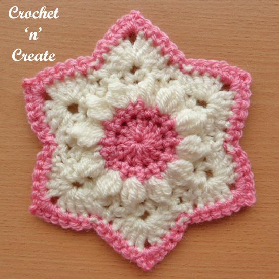 crochet star motif uk