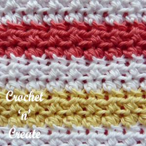 thick potholder stitch