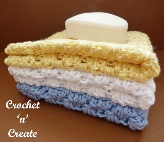 crochet granny washcloth uk